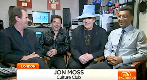 Culture Club, Roy Hay, Jon Moss, reunion, Boy Geoge, Mikey Craig,New Years Eve,Sydney Resolution,concert,video,interview