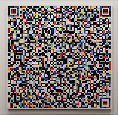 Douglas Coupland, Calgary, interview,TrepanierBaer,exhibition,paintings,QR code,