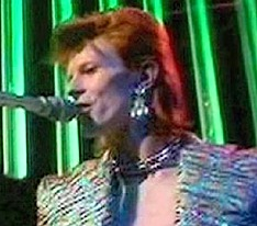 David Bowie, Missing Believed Wiped, Jean Genie,1973,Top of the Pops,BBC, Mick Ronson, John Henshall, Spiders from Mars,