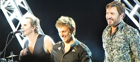 Duran Duran, UK tour, Brighton Centre, John Taylor,video