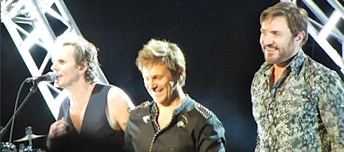 Duran Duran, UK tour, Brighton Centre, John Taylor,video