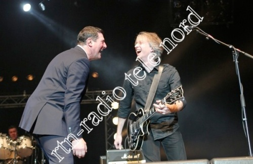 Tony Hadley,Richie Barrett , O2 World, Hamburg ,Back to the 80s ,concert, live,pop music,