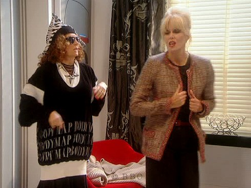 Absolutely Fabulous, Joanna Lumley, Jennifer Saunders , Bodymap, TV series