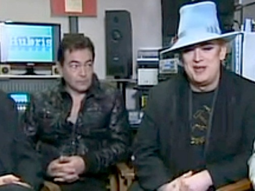 Culture Club, Jon Moss, reunion, Boy George, TV interview, Sunrise
