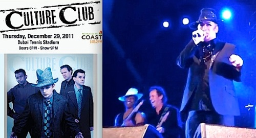 Culture Club, Roy Hay, Jon Moss, reunion, Boy George, Mikey Craig , Dubai Tennis Stadium,live concert