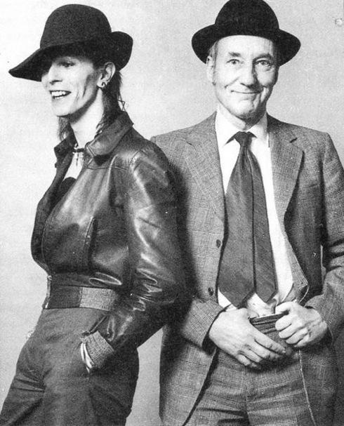 David Bowie , William Burroughs