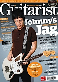 Johnny Marr, signature Jaguar ,Fender , Guitarist magazine,Bill Puplett ,John Moore