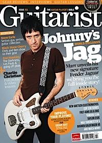 Johnny Marr, signature Jaguar ,Fender , Guitarist magazine,Bill Puplett ,John Moore