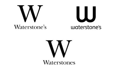 Waterstones,grammar,apostrophe,logos