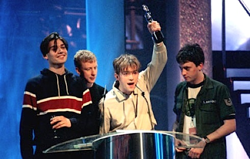 Blur, Brit Awards,pop music