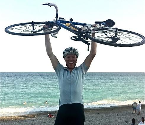 Gary Kemp, cycling, Huffington Post, columnist