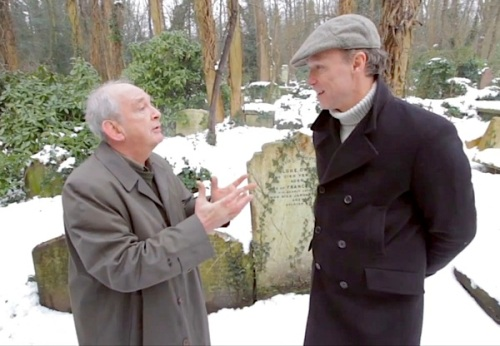 Gary Kemp , Highgate Cemetery , Charles Dickens, John Waite, bicentenary, HiBrow, video,