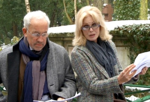 Joanna Lumley ,Simon Callow, Charles Dickens, bicentenary, Highgate Cemetery, HiBrow, video,