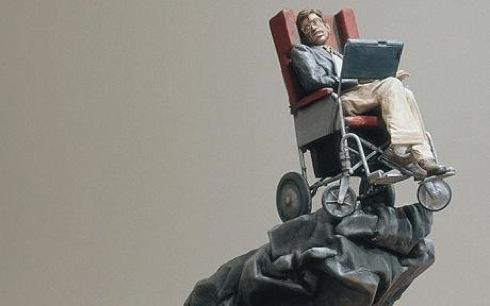 Ubermensch ,sculpture,Stephen Hawking, Jake Chapman, Dinos Chapman