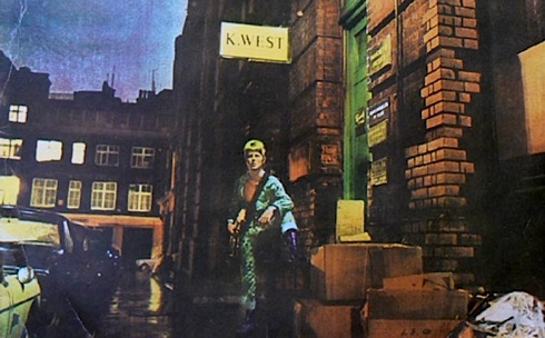 Ziggy Stardust,Crown Estate, David Bowie, Brian Ward, plaque,