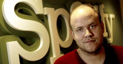 Daniel Ek, Spotify ,Rich List, social media