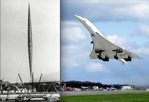 British Design,exhibition ,Innovation, Modern Age, Festival of Britain, Skylon, Concorde