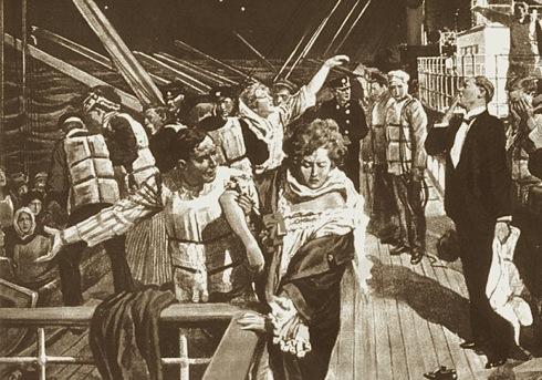 A Night To Remember,centenary, Titanic,John Jacob Astor,lifeboats