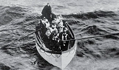 Titanic, Lifeboat No 6, Frederick Fleet , Carpathia, Robert Hichens, Unsinkable Molly Brown
