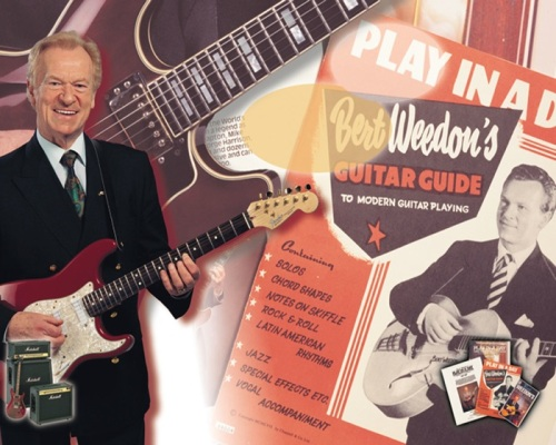 "Bert Weedon, ""Mr Guitar"" ,Play in a Day ,tutor,Eric Clapton,"