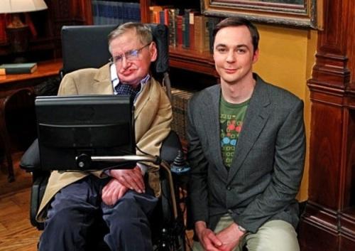 Jim Parsons , Sheldon Cooper , Stephen Hawking, Big Bang Theory, TV series, E4
