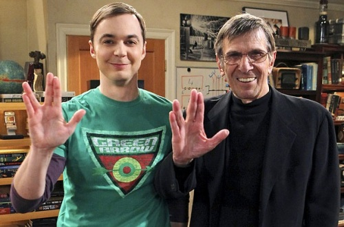 Big Bang Theory, Leonard Nimoy, Jim Parsons,Sheldon Cooper,E4