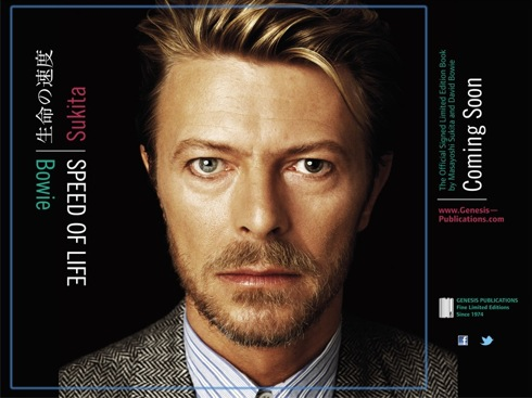 David Bowie, Masayoshi Sukita,Speed of Life, Genesis Publications,