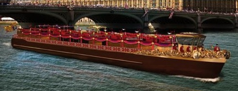 River Thames, Diamond Jubilee Pageant,