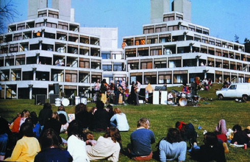 Denys Lasdun, University of East Anglia,architecture