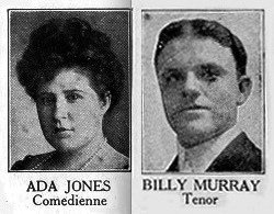 Ada Jones,Billy Murray, wax recording, phonograph
