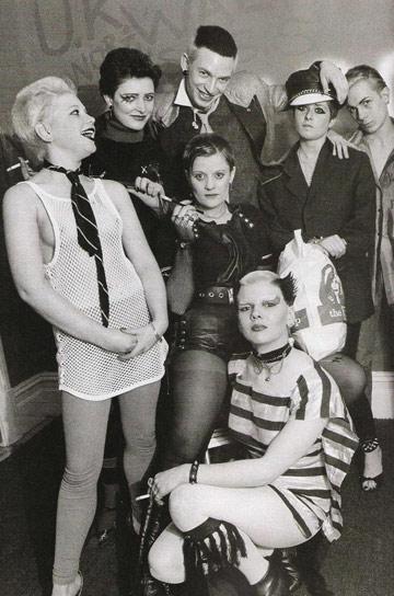 Bromley Contingent, Soo Catwoman, Jordan, punks