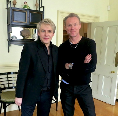 Nick Rhodes, Gary Kemp,  Ziggy Changed My Life, 6Music, Radio2,
