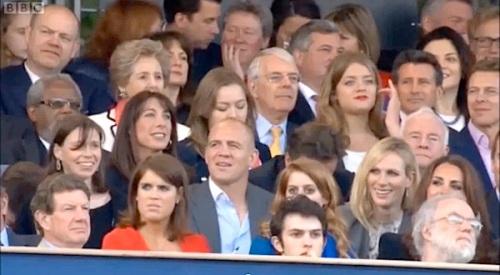 Grace Jones, HM Queen Elizabeth II, Diamond Jubilee Concert