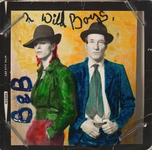 David Bowie, lyrics, pop music, retrospective, memorabilia, exhibition, William Burroughs,Victoria & Albert Museum