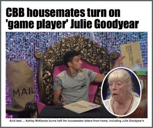 Julie Goodyear, Celebrity Big Brother