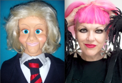Celebrity Big Brother, Kallini Puppets, ventriloquism, tuxedo, fashion