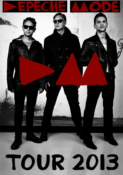 Depeche Mode, 2013, Stadium Tour, dates, Europe, pop music