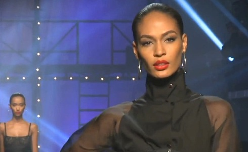 Jean Paul Gaultier's take on the Sade style of ponytail and hoop ...