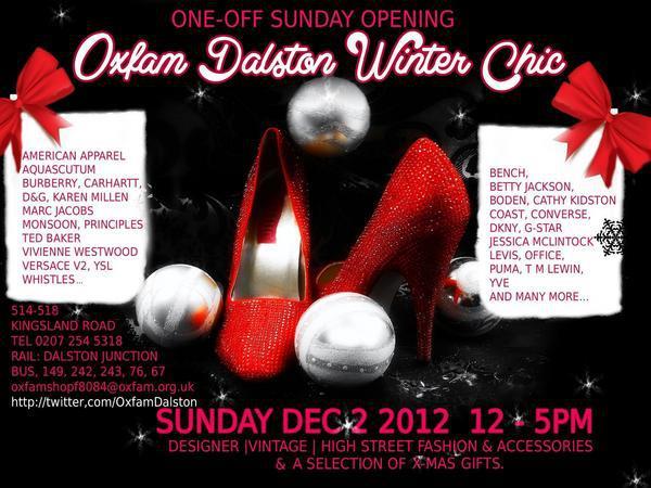 Dalston, Oxfam, Vintage, Designer, Sale, fashion, menswear,charity, Andy Polaris
