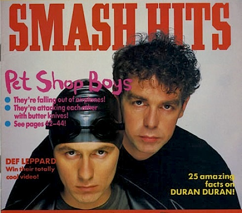 Neil Tennant ,Smash Hits, Radio 4, documentary, Pet Shop Boys
