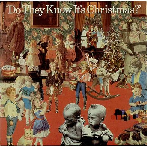 Do They Know It's Christmas?, Band Aid, Live Aid, Midge Ure, Bob Geldof, 1984,pop music, UK charts,