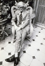 David Hockney wears Nutter (Cecil Beaton, 1970)