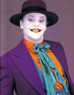 The Joker given the Nutter look in 1989