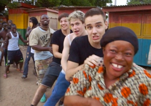 One Direction,charity ,video, Red-Nose Day,Comic Relief,Ghana