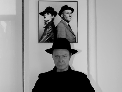 David Bowie, portraits, Jimmy King, William Burroughs