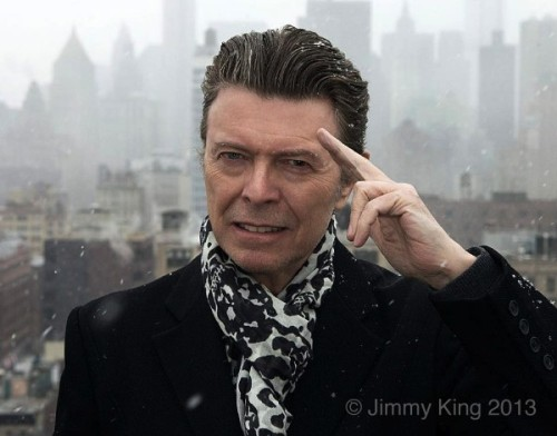 David Bowie, NYC,The Next Day,Jimmy King, album charts,