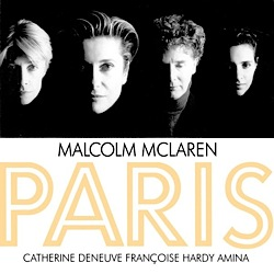Revenge of the Flowers,Malcolm McLaren, Françoise Hardy, video,album, Paris,