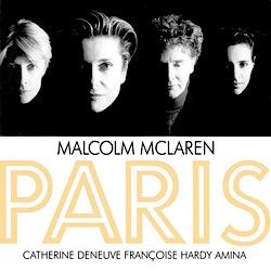 Revenge of the Flowers,Malcolm McLaren, Françoise Hardy, video,album, Paris,