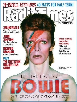 David Bowie, BBC2, Five Years, documentary, Radio Times,