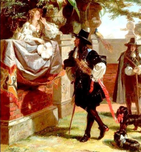 Charles II , Nell Gwyn